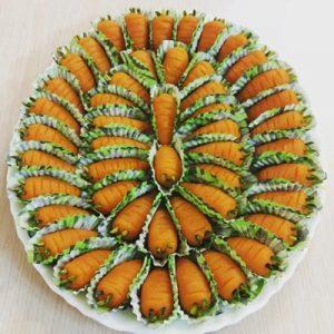 عکس طرز تهیه حلوای هویج