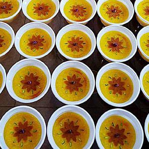 عکس شله زرد برای 40 نفر