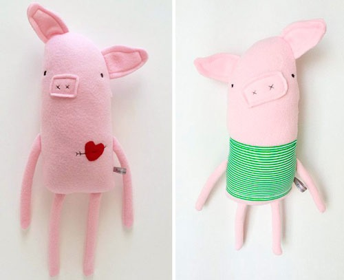 عکس مدل خوک نمدی بزرگ