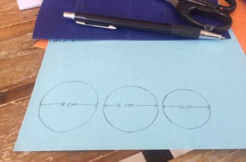 عکس دایره روی کاغذ
