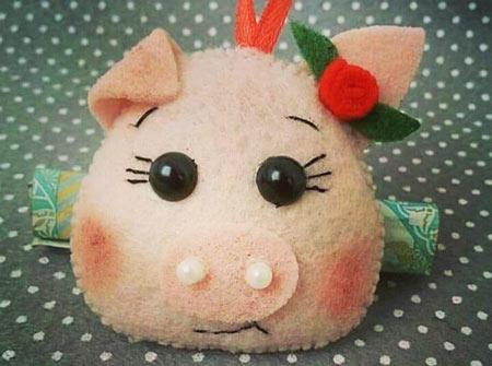 عکس مدل خوک های نمدی