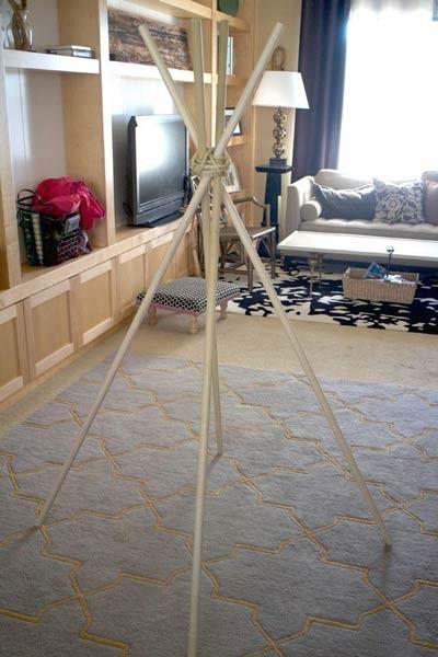 عکس چارچوب چادر بازی کودک
