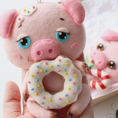عکس مدل خوک نمدی جدید