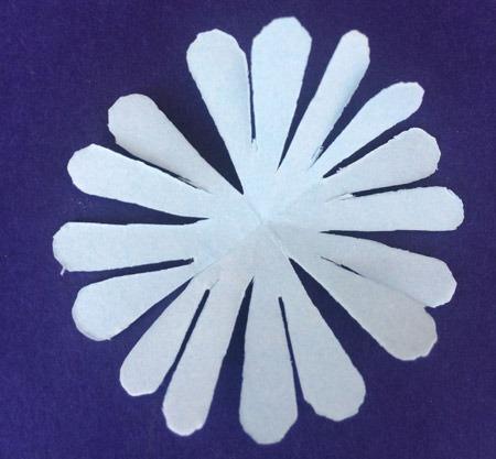 عکس کاردستی گل با کاغذ