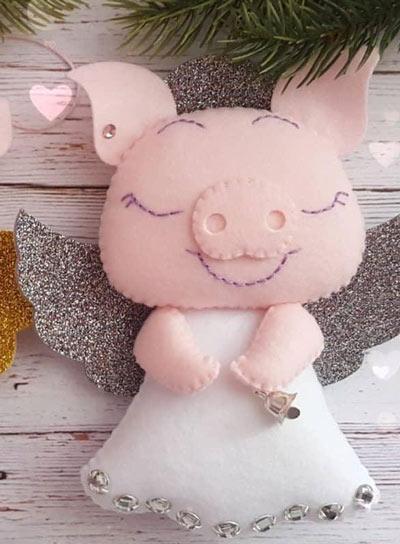 عکس مدل خوک نمدی زیبا