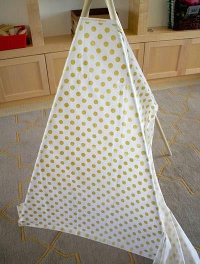 ساخت چادر بازی برای کودک