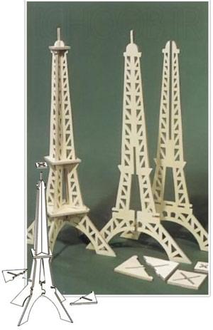 عکس الگوی معرق کاری برج ایفل