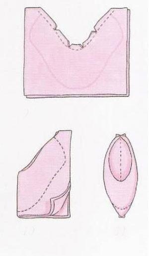 عکس الگوی کفش عروسک تیلدا