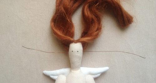 عکس انتخاب موی عروسک روسی تیلدا