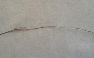 عکس سوزن کردن موی نمدی