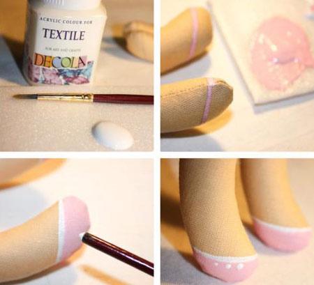 عکس طراحی کفش عروسک