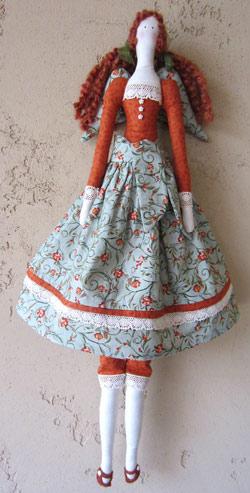 عکس عروسک تیلدای ایستاده