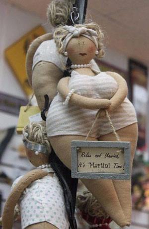 عکس عروسک تیلدای چاق