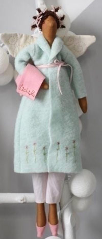 عکس عروسک تیلدا با لباس