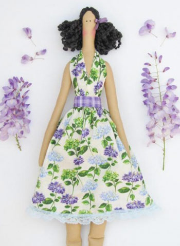 عکس عروسک تیلدا 2