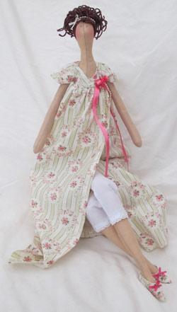 عکس لباس عروسک تیلدای روسی