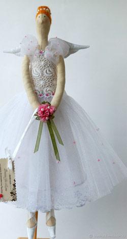 عکس مدل عروسک روسی تیلدا