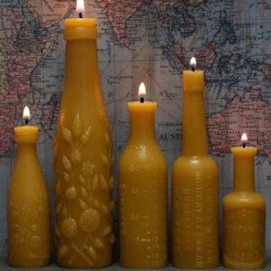 عکس ساخت شمع در قالب پلاستیکی