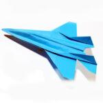 عکس آموزش ساخت موشک کاغذی حرفه ای