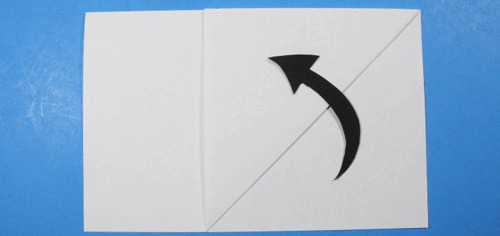 عکس موشک کاغذی ساده