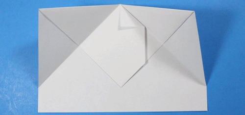 عکس آموزش ساخت موشک کاغذی با برد بالا