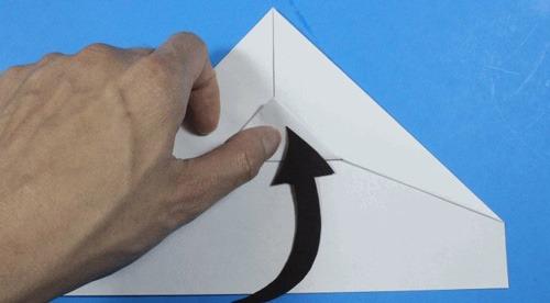 10-2 عکس اموزش ساخت موشک کاغذی با برد 100 متر