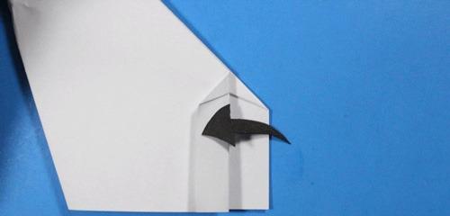 عکس آموزش ساخت موشک کاغذی پیشرفته