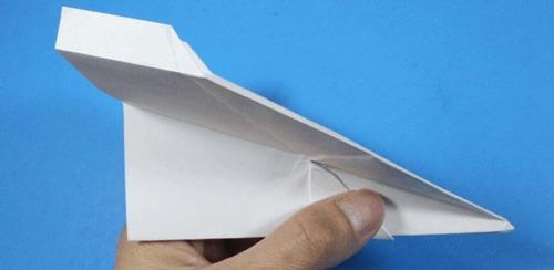 عکس اموزش ساخت موشک کاغذی حرفه ای