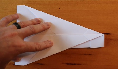 عکس اموزش ساخت سریعترین موشک کاغذی