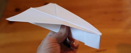 عکس آموزش ساخت موشک کاغذی شکل عقاب