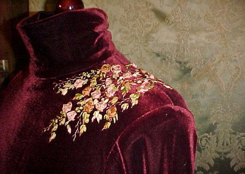 عکس روبان دوزی لباس مجلسی