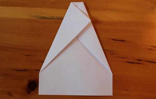 عکس آموزش گام به گام ساتخت موشک کاغذی