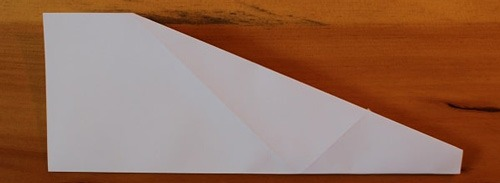 عکس آموزش تصویری ساخت موشک کاغذی