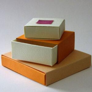 عکس آموزش ساخت جعبه کادویی با مقوا