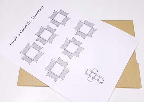 عکس الگوی ساخت روبیک 3در3