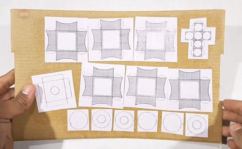 عکس قطعات الگوی روبیک 3در3