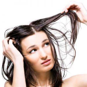 عکس درمان موهای چرب