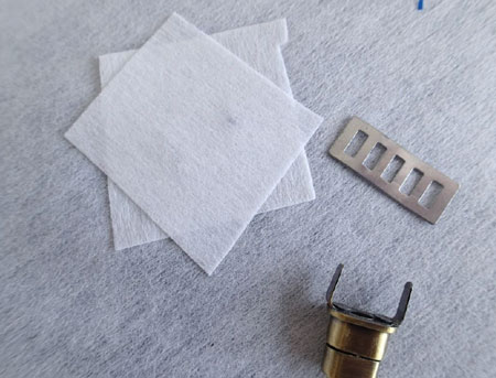 عکس دکمه چرخشی فلزی