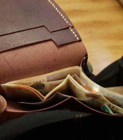 عکس کیف پول چرم مردانه