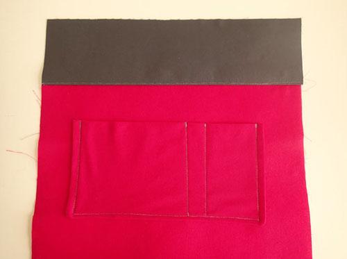 عکس جیب داخلی کیف پارچه ای