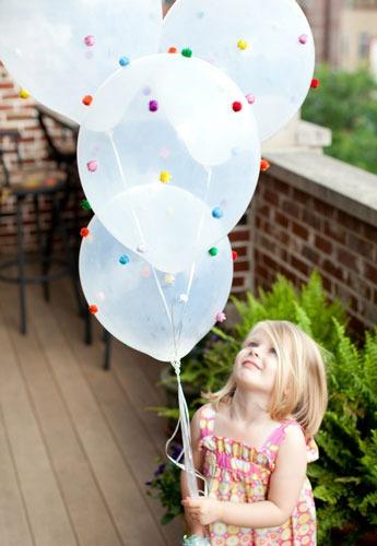 عکس بادکنک آرایی ساده برای تولد