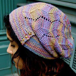 عکس آموزش بافت کلاه فرانسوی دخترانه