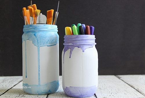 عکس آموزش نقاشی ظروف شیشه ای