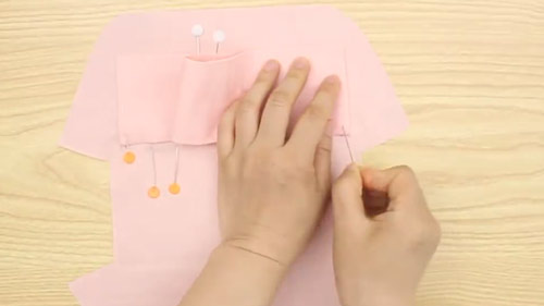 آموزش دوخت کیف پارچه ای لوازم آرایشی