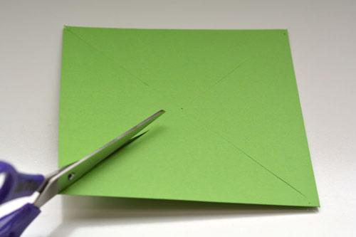 عکس چیدن کاغذ رنگی