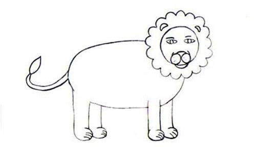 عکس آموزش نقاشی کودکانه حیوانات