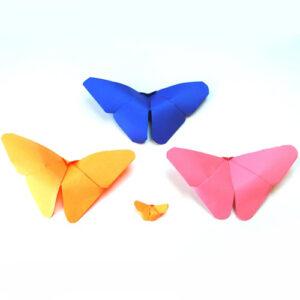 عکس آموزش ساخت پروانه کاغذی