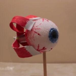 عکس آموزش ساخت ماکت چشم انسان
