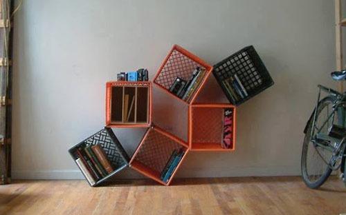 عکس ساخت طبقه با مواد دور ریختنی