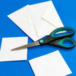 عکس آموزش ساخت پاکت نامه